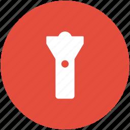 emergency light, flashlight, light, pocket torch, torch icon