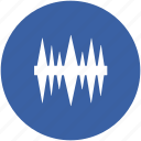 equalizer, music bass, music wave, pressure wave, sound waves icon