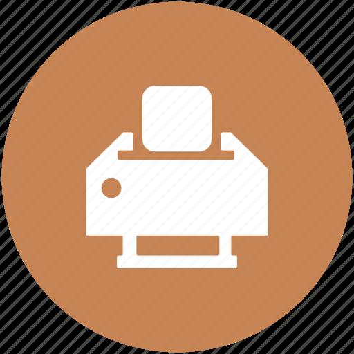 inkjet printer, laser printer, office supplies, printer, printing machine icon