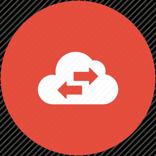 cloud computing, data sharing, data transferring, icloud sharing, storage cloud icon