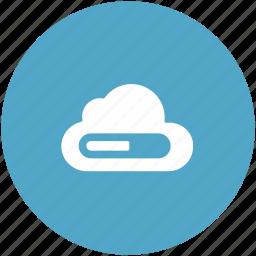cloud, cloud storage, computing cloud, icloud, storage cloud icon