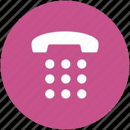 call, keypad, landline, landline keypad, mobile keypad, phone, phone keypad icon