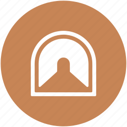 door keyhole, keyhole, road tunnel, strand underpass, underpass icon