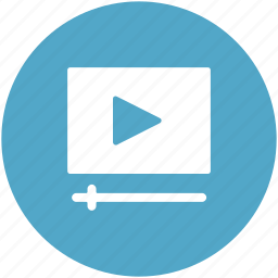 media player, multimedia option, music player, play button, video player icon