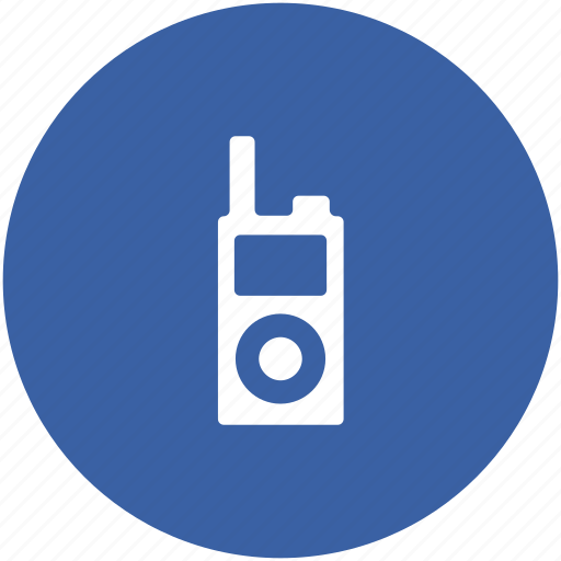 cell phone, cordless phone, security device, walkie talkie, wireless device icon