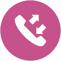 call, communication, incoming call, outgoing call, phone receiver, receiver icon