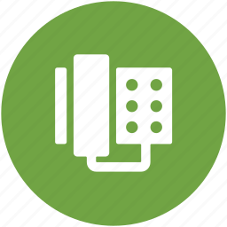 call, communication, landline, technology, telecommunication, telephone icon