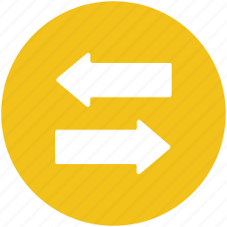 arrows, direction arrow, left arrow, navigation arrow, right arrow icon