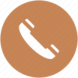 call, contact us, helpline, phone receiver, receiver icon