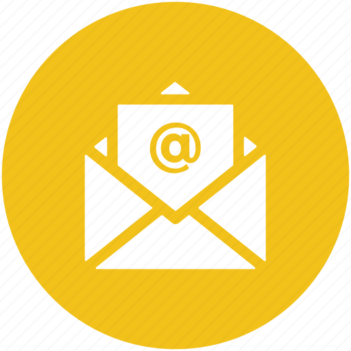 Electronic correspondence, electronic mail, email, email message, inbox icon - Download on Iconfinder
