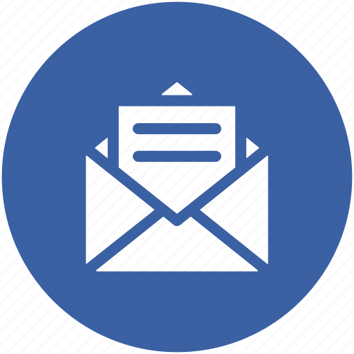 correspondence, email, inbox, letter, letter envelope, mail icon
