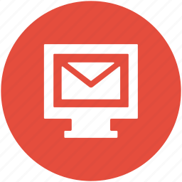 display screen, email, email account, inbox, lcd, monitor icon