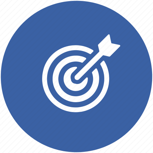 Archery, archery arrow, bullseye, dart, dartboard, optimization, target icon - Download on Iconfinder