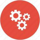 cogs, cogwheels, configuration, gears, options, settings icon