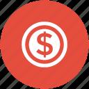 usd, wealth, money, dollar coin, dollar, cash, currency