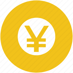 cash, finance, japanese currency, japanese yen, money, yen icon
