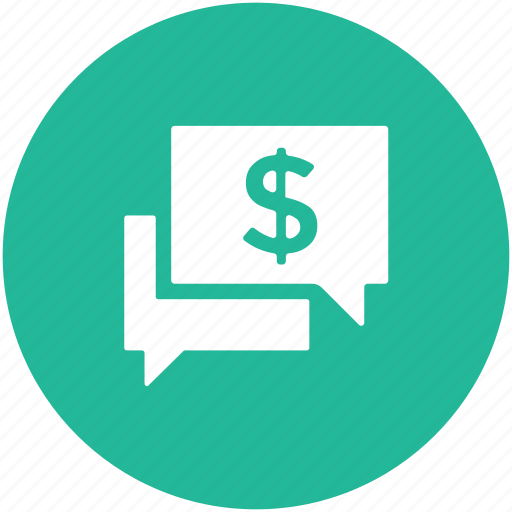 business communication, chat bubble, finance meeting, speech bubble icon