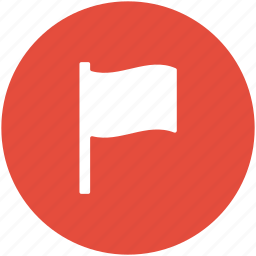 destination flag, flag, flag pole, insignia, sports flag icon