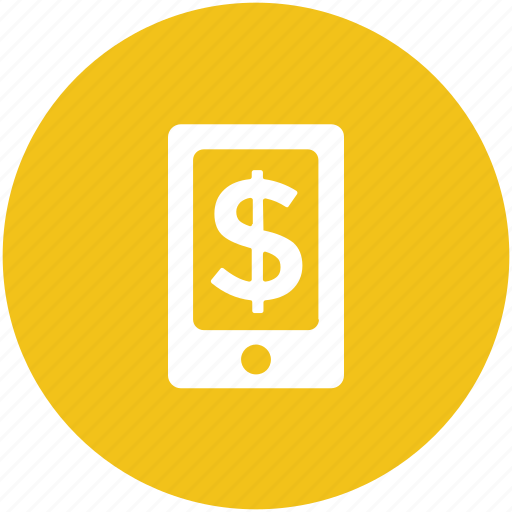 business, commerce, m commerce, mobile, online business, online work icon