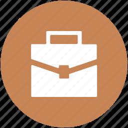 bag, books bag, briefcase, documents bag, portfolio, suitcase icon