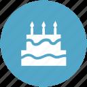 bakery food, birthday cake, cake, cake with candle, celebration, food