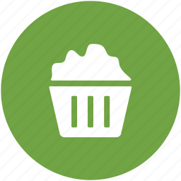 bakery food, confectionery, cupcake, fairy cake, food, muffin icon