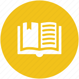 book, education, knowledge, open book, reading, study icon