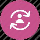 profile avatar, refresh, reload, update user, user
