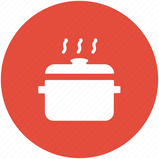 cooking pot, cookware, dinner, hot food, lunch, meal icon