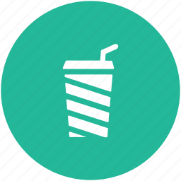 coffee cup, cold coffee, disposable cup, juice cup, paper cup, takeaway coffee icon