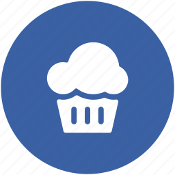bakery food, cupcake, dessert, fairy cake, food, muffin icon