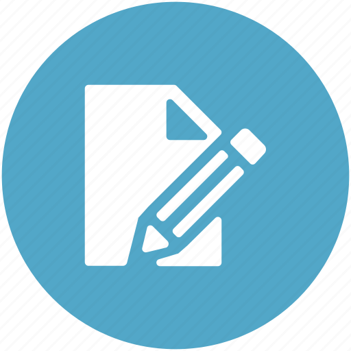 daybook, diary, education, notebook, pencil, writing icon