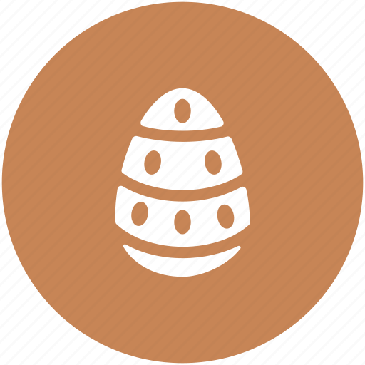 decorated egg, easter decorations, easter egg, paschal egg icon