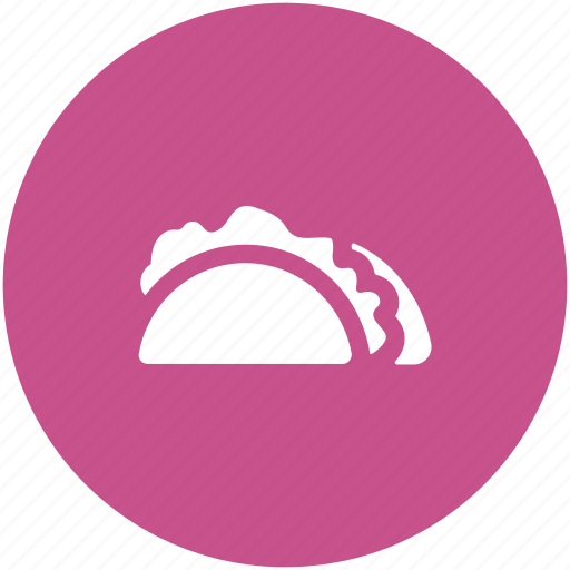 fast food, junk food, mexican food, shawarma, tacos, tortilla tacos icon