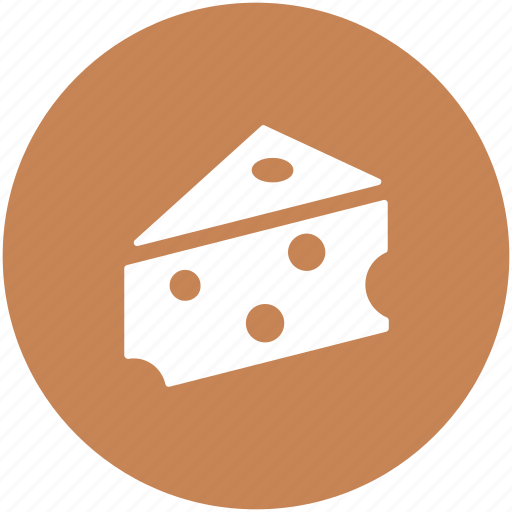 cheese, cheese block, cheese portion, dairy food, food icon