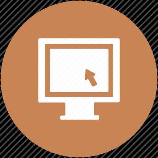 computer monitor, display, lcd, led, monitor, monitor screen icon