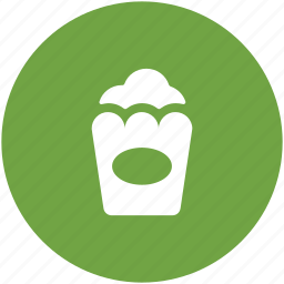 cinema snack, popcorn, popcorn box, snack, snacks food icon
