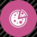 fast food, food, italian food, junk food, pizza, pizza slice icon