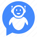 advisor, communication, help, robo, robot icon