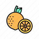 diet, fruits, healthy, lemon, vegan, veggie icon