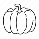 food, pumpkin, vege, vegetables, vegetarian icon