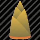 asia, bamboo, fiber, shoot icon