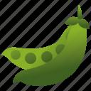 beans, crops, green, legume, peas