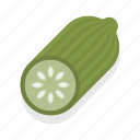 cucumber, food, healthy, vegetable icon
