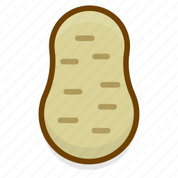 cooking, food, healthy, kitchen, potato, restaurant, vegetable icon
