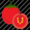 diet, food, fruit, healthy, organic, tomato, vegan icon