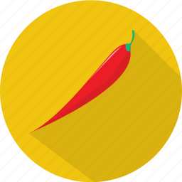 chili, organic, pepper, spice, vegetables icon