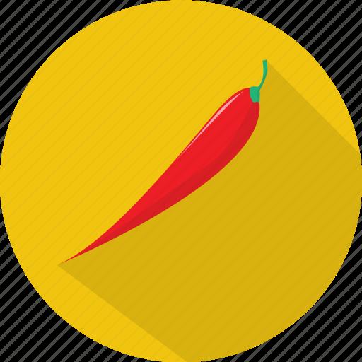 chili, organic, pepper, spice, vegetables icon