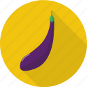 eggplant, food, fresh, harvest, nature, vegetables icon