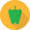 agriculture, garden, natural, paprica, pepper, vegetables icon